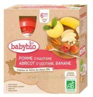 Babybio Gourde Pomme Abricot Banane à ODOS