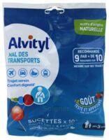 Alvityl Sucette Mal Des Transports Cola Fraise Sachet/10 à ODOS
