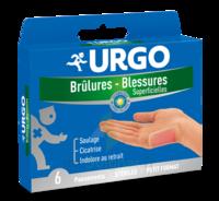 Urgo Brulures-blessures Petit Format X 6 à ODOS