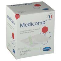 Medicomp® Compresses En Nontissé 7,5 X 7,5 Cm - Pochette De 2 - Boîte De 25 à ODOS