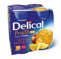 Delical Boisson Fruitee Nutriment Multi Fruits 4bouteilles/200ml à ODOS