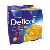 Delical Boisson Fruitee Nutriment Orange 4bouteilles/200ml à ODOS