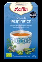 Yogi Tea Tisane Ayurvédique Profonde Respiration Bio 17 Sachets/1,8g à ODOS