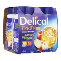 Delical Boisson Fruitee Nutriment Pomme 4bouteilles/200ml à ODOS