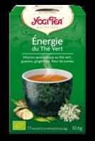 Yogi Tea Thé Energie Du Thé Vert Bio 17 Sachets/1,8g à ODOS
