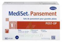 Mediset® Set De Pansement Post Op Avec Coupe-fil Pour Grandes Plaies - Boîte De 3 Soins à ODOS
