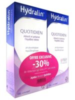 Hydralin Quotidien Gel Lavant Usage Intime 2*200ml à ODOS