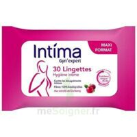 Intima Gyn'expert Lingettes Cranberry Paquet/30 à ODOS