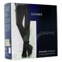 Sigvaris Graphik 2 Chaussette Homme Ardoise N Médium à ODOS
