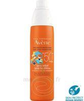Avène Eau Thermale Solaire Spray Enfant 50+ 200ml à ODOS