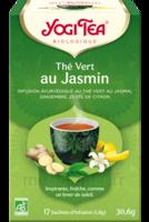 Yogi Tea Thé Vert Jasmin Bio 17 Sachets/1,8g à ODOS