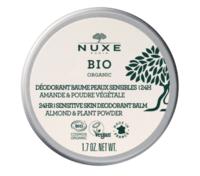 Nuxe Bio Déodorant Baume Fraîcheur 24h Peaux Sensibles Pot/50g à ODOS
