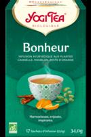 Yogi Tea Tisane Ayurvédique Bonheur Bio 17 Sachets/1,8g à ODOS