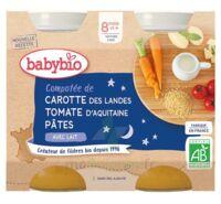Babybio Pot Bonne Nuit Légumes Pâtes à ODOS